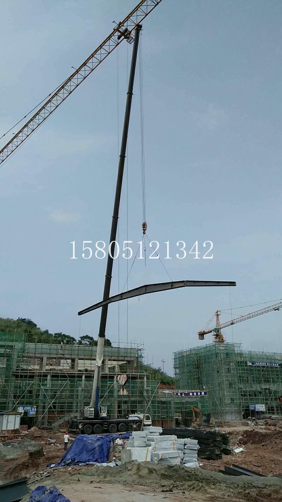 上海黄浦800吨高空车出租公司