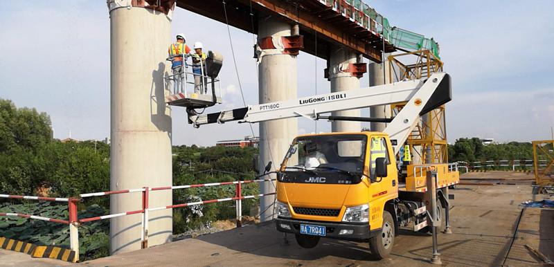 上海高架桥梁检测案例