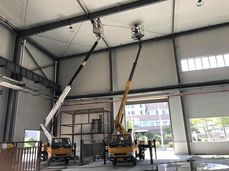 上海高空车厂房检修